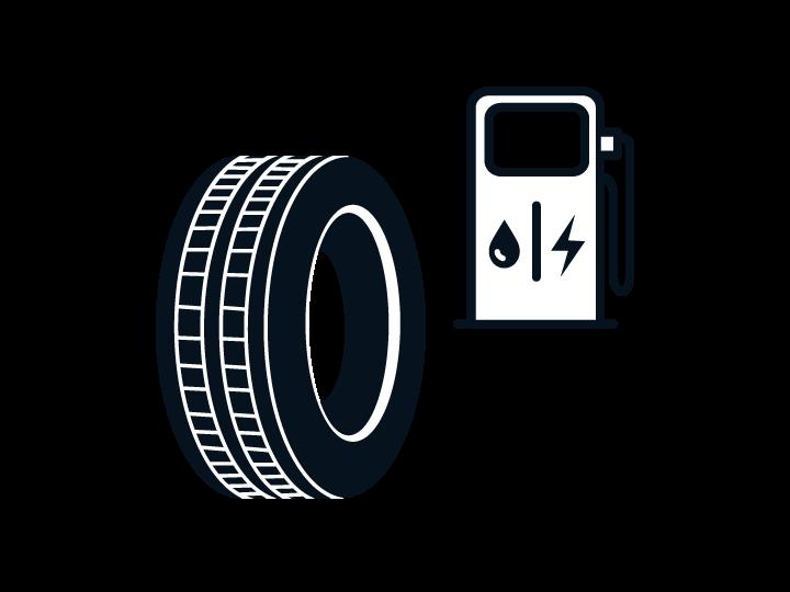 Kia Reifenlabel – Kraftstoff-Effizienz