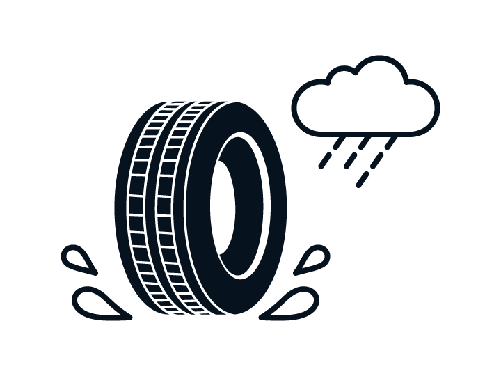 Kia Reifenlabel – Nasshaftung